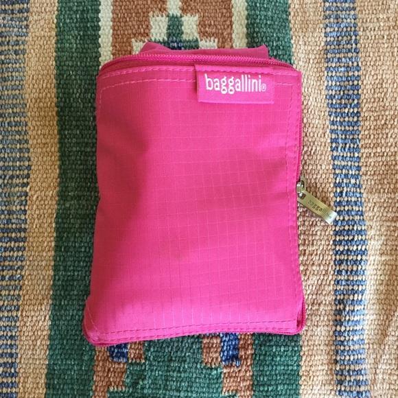 Baggallini pink foldable / portable bag
